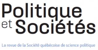 Logo revue Politique et Sociétés